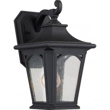 Bedford Small Wall Lantern Mystic Black