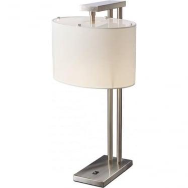Belmont Table Lamp Brushed Nickel