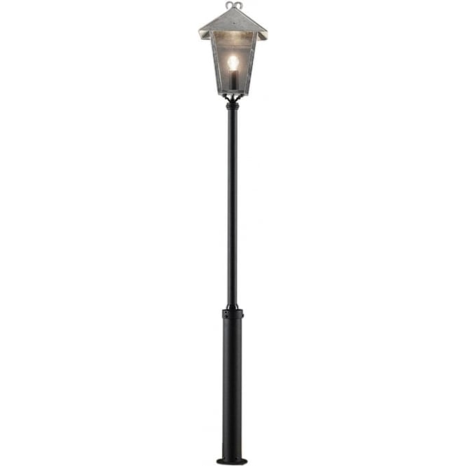 Konstsmide Garden Lighting Benu inc Taurus pole - galvanised 437-320
