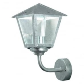 Benu wall up light LED - galvanised 440-320