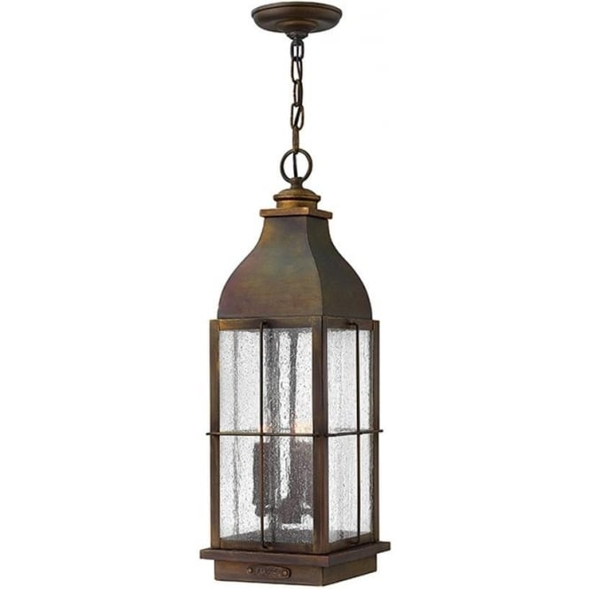 Hinkley Lighting Bingham chain lantern - Sienna