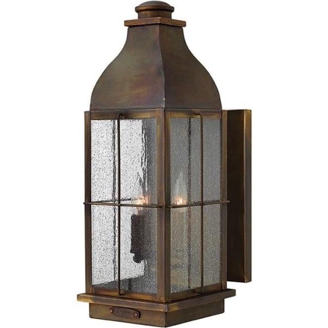 Hinkley Lighting Bingham large wall lantern - Sienna