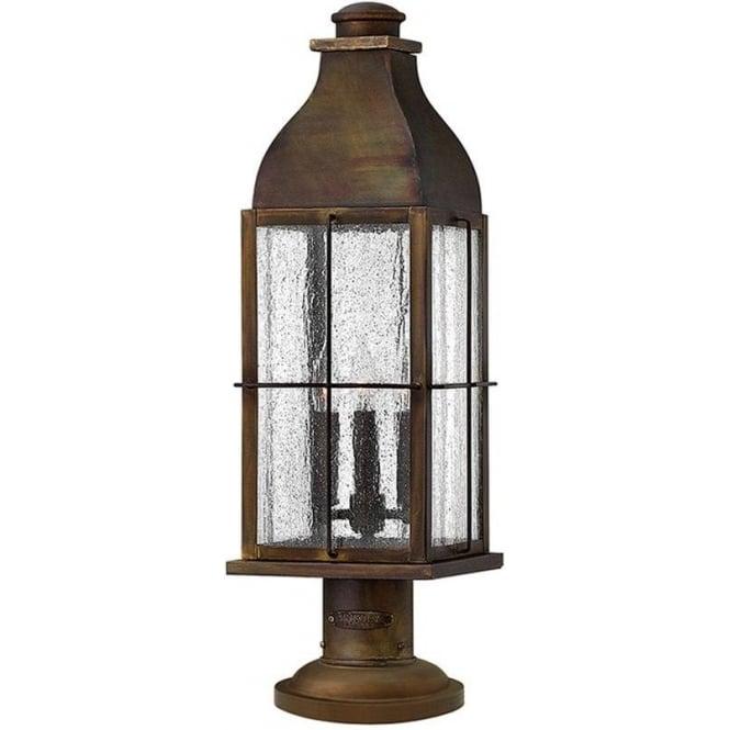 Hinkley Lighting Bingham pedestal - Sienna