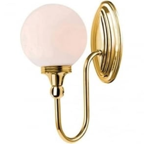 Blake Single Wall Light Polished Brass