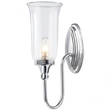 Blake Single Wall Light Polished Chrome