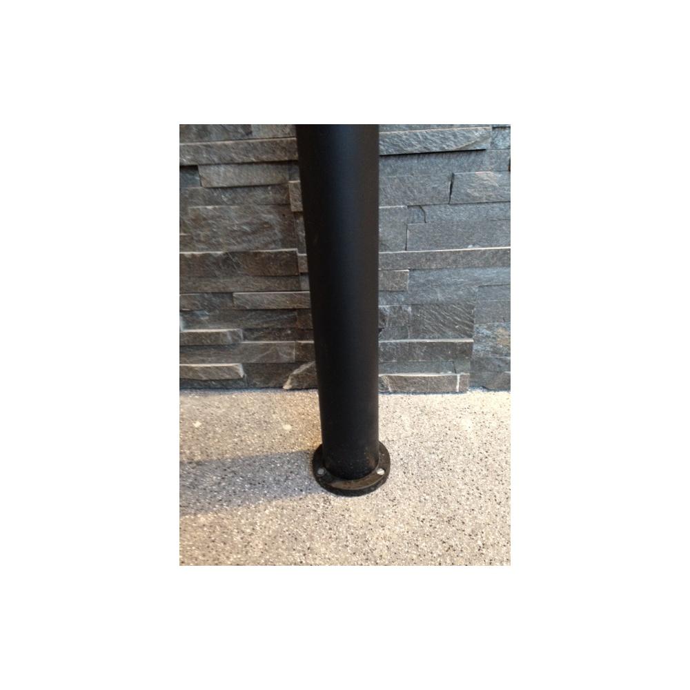 Hunza Outdoor Lighting Bollard 300mm 90mm Flange