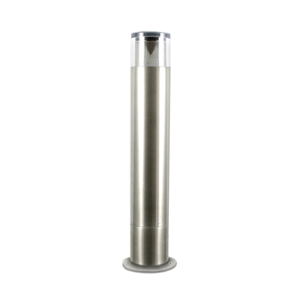 Hunza Outdoor Lighting Hunza Outdoor Lighting Bollard 300mm 90mm Flange Stainless Steel