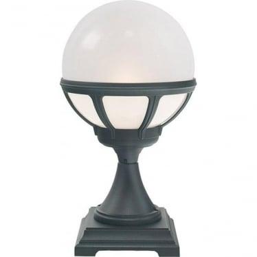 Bologna Pedestal Black Opal Lens B3 (Globe) art.313