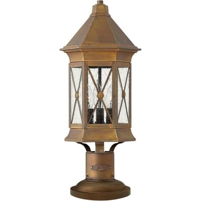 Hinkley Lighting Brighton pedestal - Brass