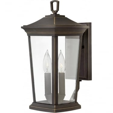 Bromley Medium Wall Lantern Oil Rubbed Bronze