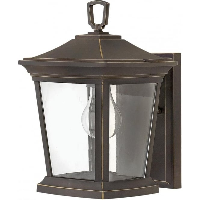 Hinkley Lighting Bromley Small Wall Lantern Oil Rubbed Bronze