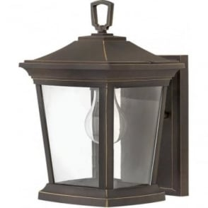 Bromley Small Wall Lantern Oil Rubbed Bronze