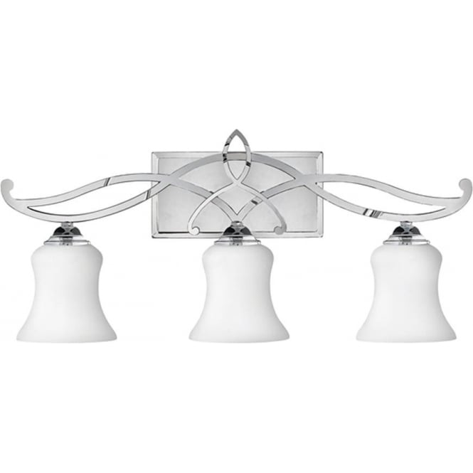 Hinkley Lighting Brooke 3 Light Above Mirror Light Polished Chrome