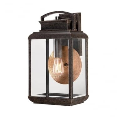 Byron large wall lantern - Bronze