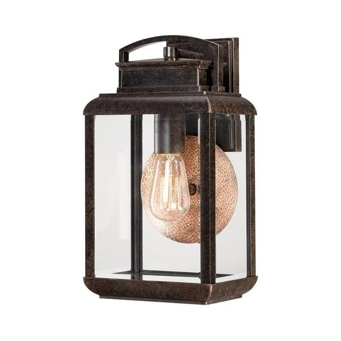 Quoizel Byron medium wall lantern - Bronze