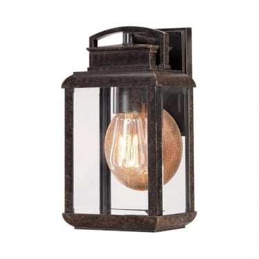 Byron small wall lantern - Bronze