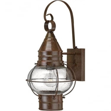 Cape Cod medium wall lantern - Sienna Bronze