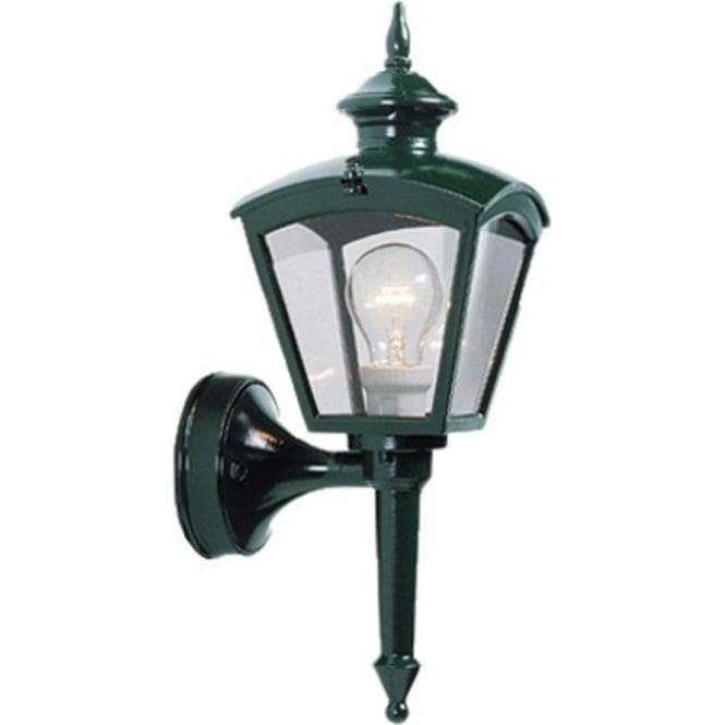 Konstsmide Garden Lighting Cassiopeia wall light - green 480-600