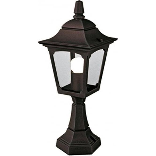 Elstead Lighting Chapel Mini Pedestal Lantern - Black