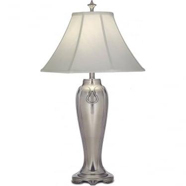 Charleston Table Lamp Antique Nickel