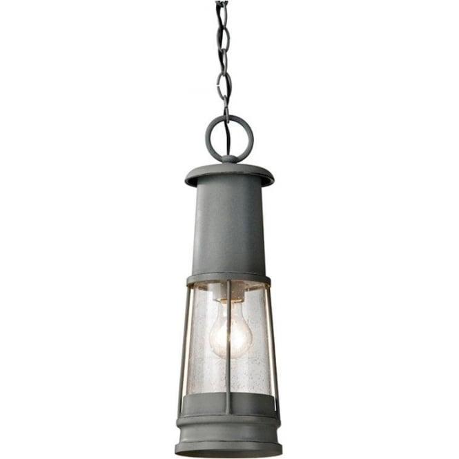 Feiss Chelsea Harbor Chain Lantern - Grey