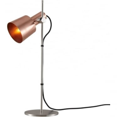 CHESTER TABLE LIGHT - satin copper