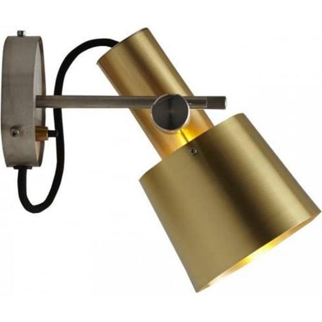 Original BTC Lighting CHESTER Wall LIGHT - satin brass
