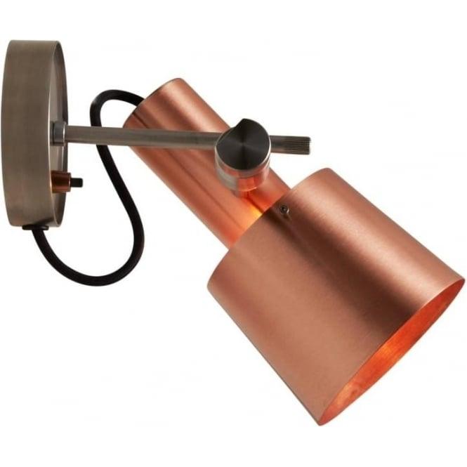 Original BTC Lighting CHESTER Wall LIGHT - satin copper