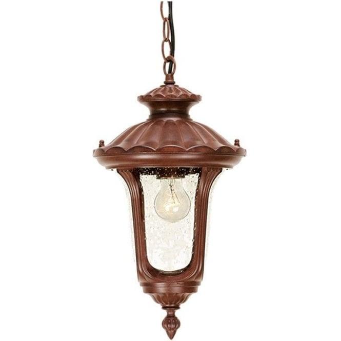 Elstead Lighting Chicago Chain Lantern Small - Rusty Bronze