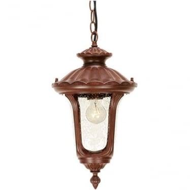 Chicago Chain Lantern Small - Rusty Bronze
