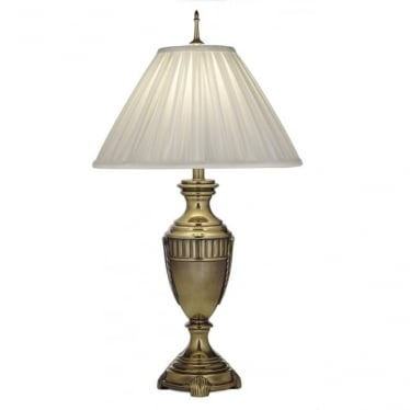 Cincinnati Table Lamp Burnished Brass