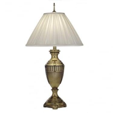 Cincinnati Table Lamp Burnished Brass