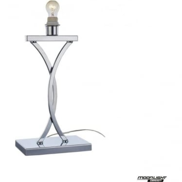 Claire Table Lamp Chrome