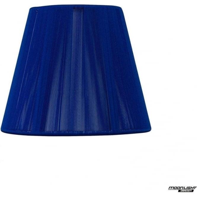 Mantra Clip On Silk String Shade Midnight Blue 130mm