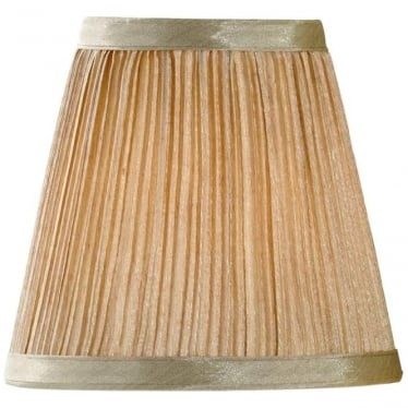 Clip Shade Mushroom Pleated Candle Shade