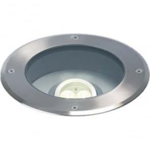 GL007A Drive Over LED MAINS ground lights - stainless steel