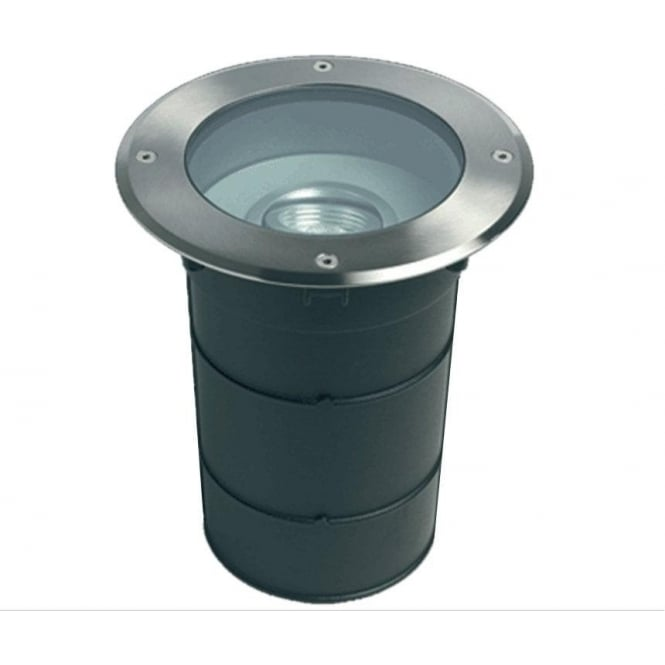 Collingwood Lighting GL007RGBW drive over colour change LED ground light 12w - stainless steel - Low voltage