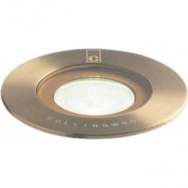GL016 F AB ground lights - brass - Low voltage