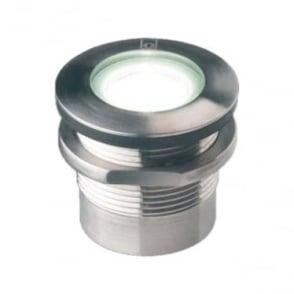 GL019 1W Threaded Mini LED ground lights - stainless steel