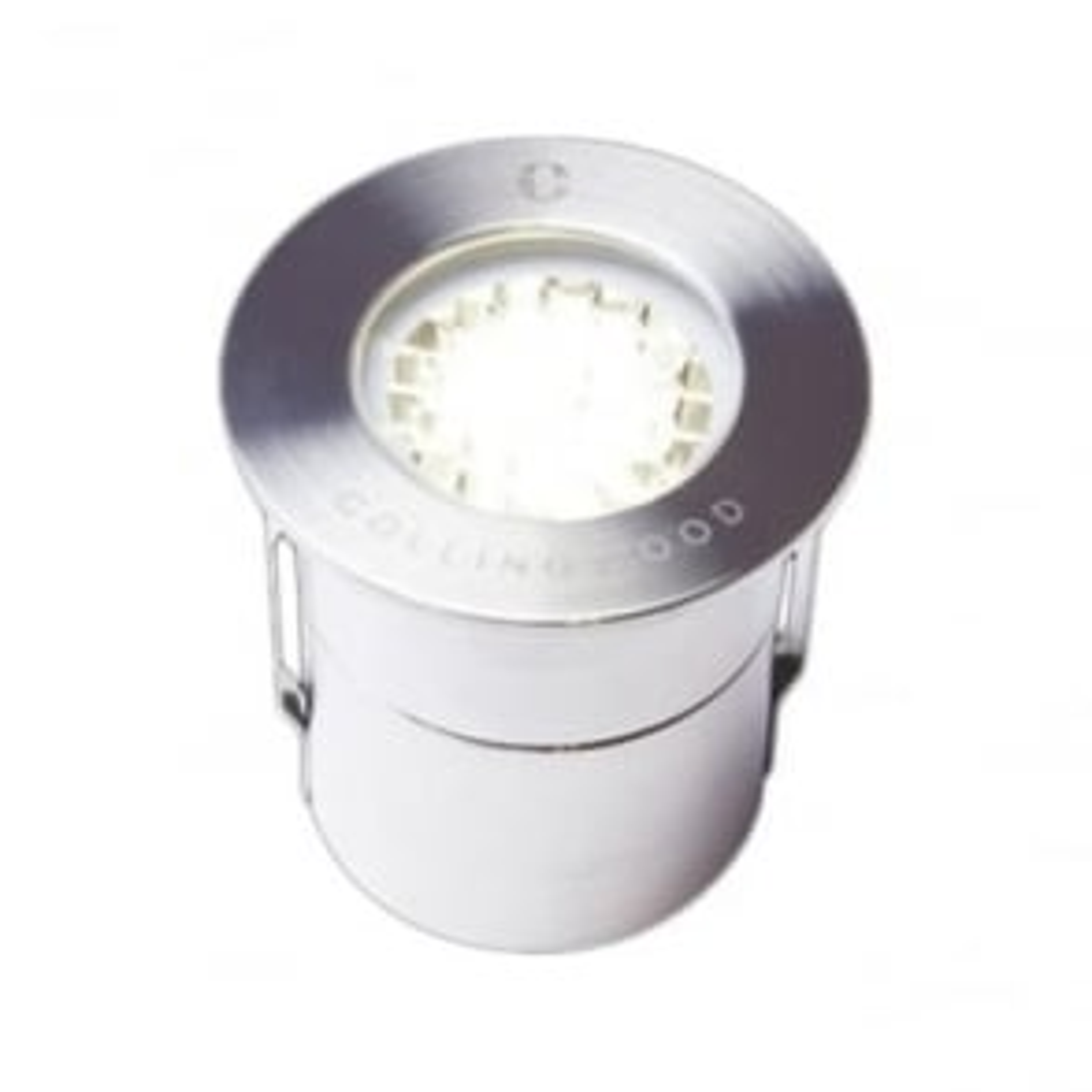 GL019 LG 1W Mini low glare LED ground light - stainless steel