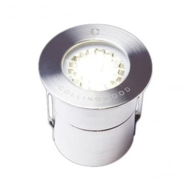 GL019 LG 1W Mini low glare LED ground light - stainless steel