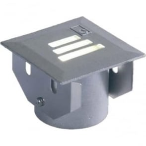 GL022 square slotted LED ground lights - Cast stainless steel