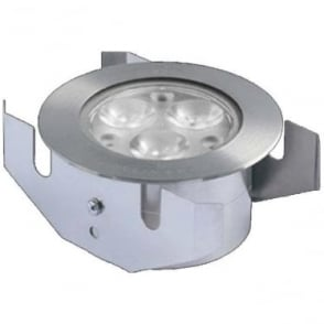 GL040CARGB Colour change LED ground light 3w - stainless steel