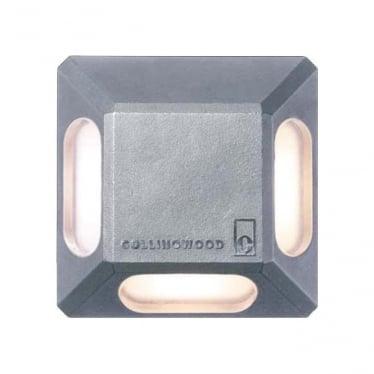 GL063 3 Way LED marker light - stainless steel