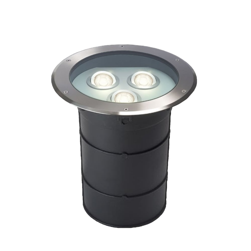 quality design ae1cc c0f6b GL09 Triple LED Drive Over Ground Light - Stainless Steel