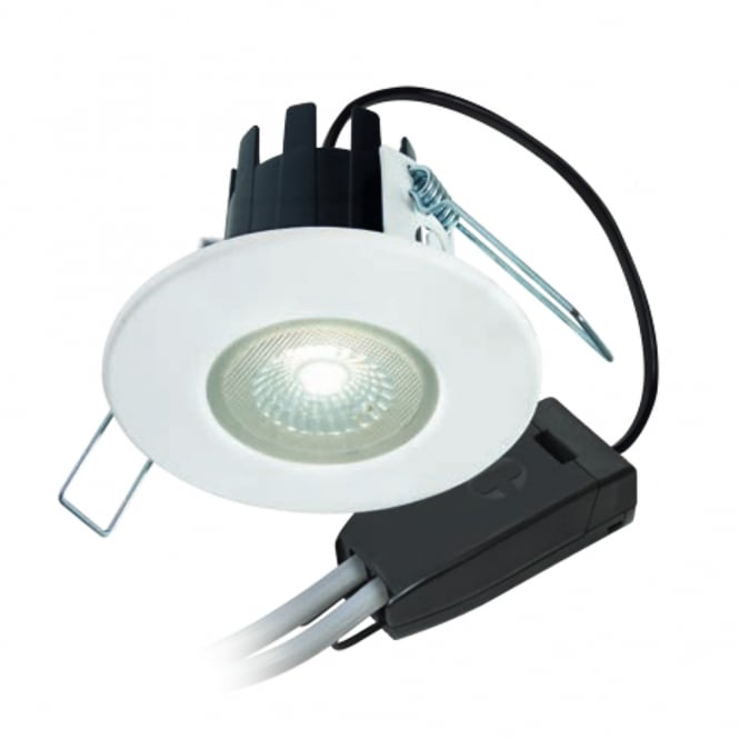 Collingwood Lighting H2 Lite T Dimmable, Fire-rated LED Downlight Complete with Bezel and Terminal Connector