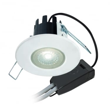 H2 Lite T Dimmable, Fire-rated LED Downlight Complete with Bezel and Terminal Connector