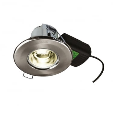 H2 Pro Elect Low glare, Dimmable, Fire-rated, LED Downlight with Push-fit Terminal Connector