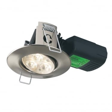 H4 FF 60 Degree Adjustable Dimmable Fire-rated LED Downlight