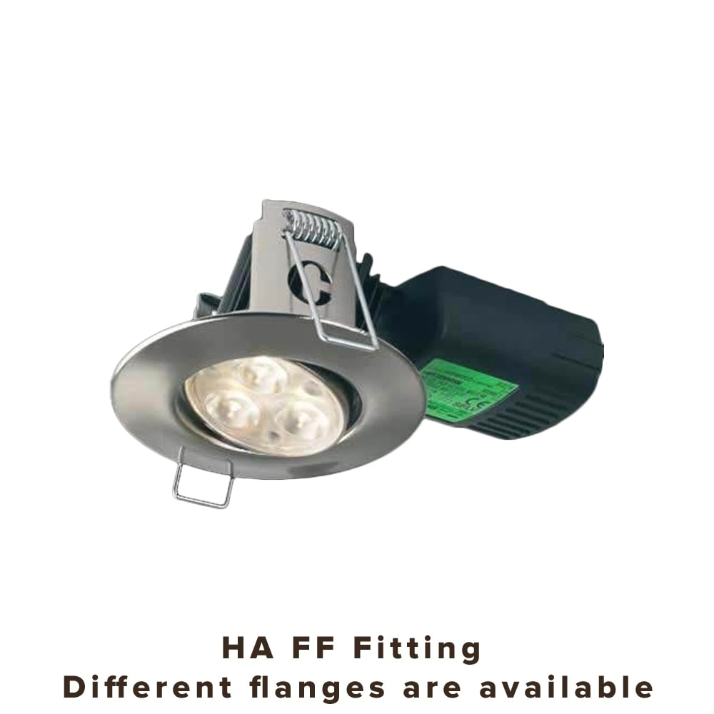 hot sales 67498 5a8ea Collingwood Lighting H4 FF Adjustable Dimmable Fire-Rated LED Downlight -  CHROME